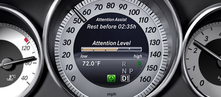 2017 Mercedes-Benz E Class Attention Assist