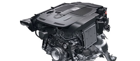 3.0-liter Biturbo Direct Injection V-6 Engine